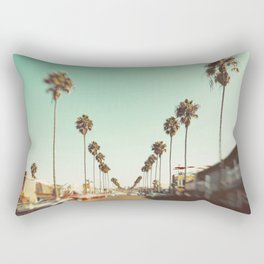 Ocean Beach Blvd San Diego Rectangular Pillow