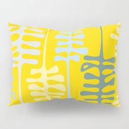 Abstract jungle - yellow Pillow Sham