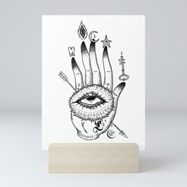 Hand of Mysteries Mini Art Print