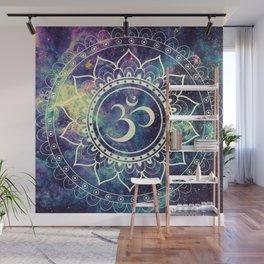 Om Mandala : Deep Pastels Galaxy Wall Mural