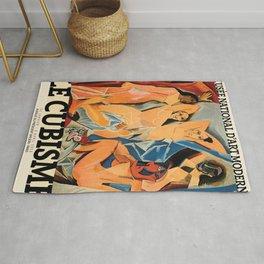 Picasso Le Cubisme Poster, HIGH QUALITY PRINT, Pablo Picasso, Les Demoiselles d'Avignon, Museum Of Modern Art, Home Decor Rug