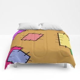Patched  Comforters