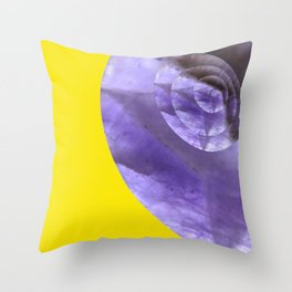 Yellow Mystical Powers of Amethyst #society6 Throw Pillow