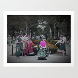 Washington Square (NY) Art Print