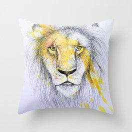 Lion I Throw Pillow