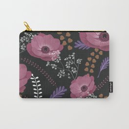 Anemones II: warm in circle Carry-All Pouch