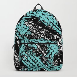 Desert Tracks Teal Backpack