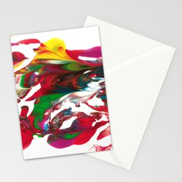 Water waves by Luka Stationery Cards