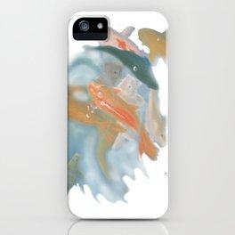 koi {white} iPhone Case