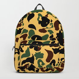Frenchie Camouflage Backpack