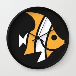 Clooney The Fish Wall Clock