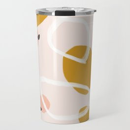 Abstract Fall III #society6 #abstractart Travel Mug
