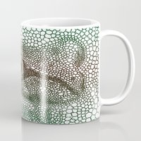 frog Mugs featuring frog by Ed Hepp