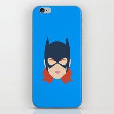 Batgirl Minimalist Design iPhone & iPod Skin
