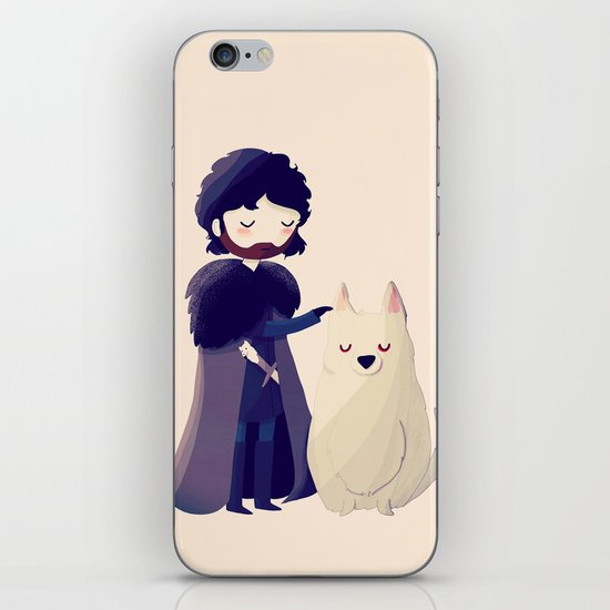 Night Gathers iPhone & iPod Skin