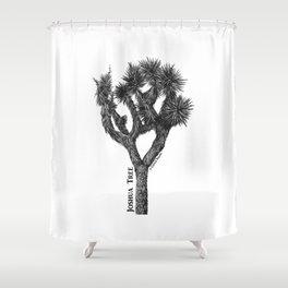 Joshua Tree Burns Canyon by CREYES Shower Curtain