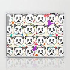 splatter pop panda cookies Laptop & iPad Skin