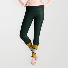 Green bay graphic Leggings