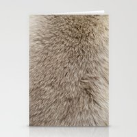 ferret Stationery Cards featuring Ferret Texture by Diego Tirigall