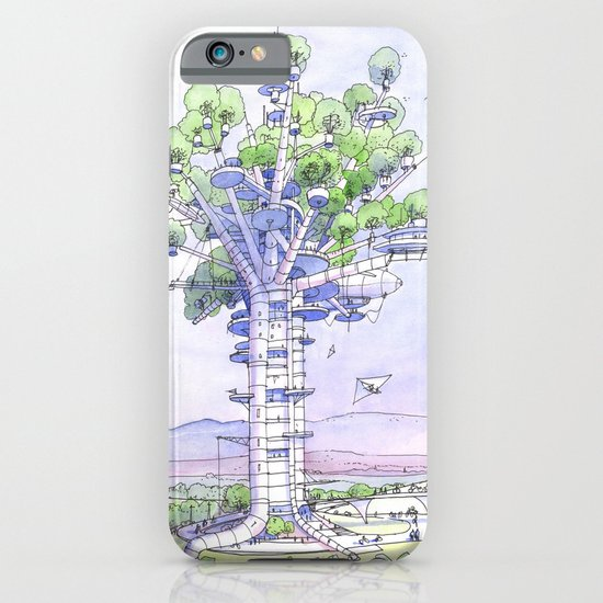 La Citta' albero... iPhone & iPod Case