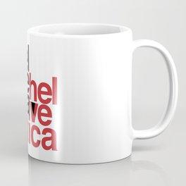 Suisse Swiss Helvetica Type Specimen Artwork in White Coffee Mug