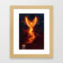 From the last spark Framed Art Print
