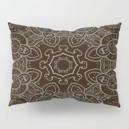 Earth Tones Paisley Mandala Pillow Sham