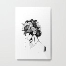 Floral IV Metal Print