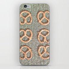 Pretzel Party iPhone Skin