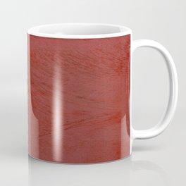 Tuscan Red Stucco - Rustic Glam Coffee Mug
