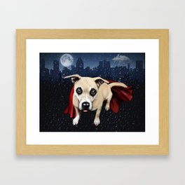 The real Heroes of the Streets. Framed Art Print