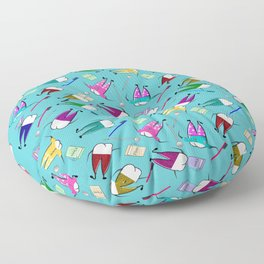 Teeth People Floor Pillow
