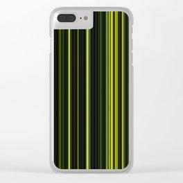 Fir Trees Clear iPhone Case