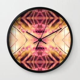 PINK SPANGLES no9-R2 Wall Clock