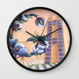 Georgia Initials Wall Clock