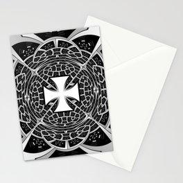 Cross pattée Stationery Cards