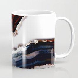 Red meets Blue - Agate Translucent #1 #decor #art #society6 Coffee Mug