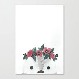 frosty the snowbird Canvas Print