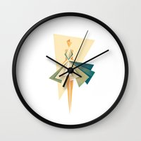 marilyn Wall Clocks featuring Marilyn by VessDSign
