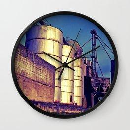 South Tacoma grain depot Wall Clock