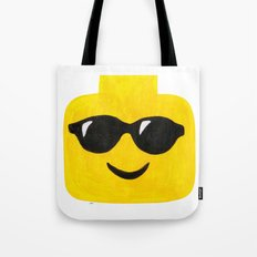 Sunglasses - Emoji Minifigure Painting Tote Bag