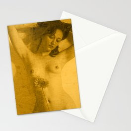Nude Art Gold Stationery Cards