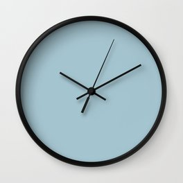 Tropical Waters Blue Wall Clock