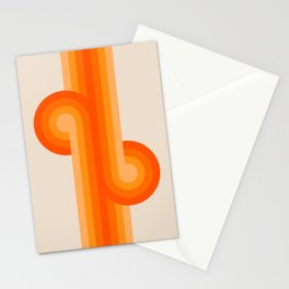 Creamsicle Knots Stationery Cards