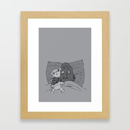 nighty nighty Framed Art Print