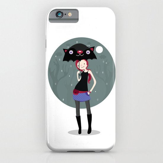 Rainy days iPhone & iPod Case