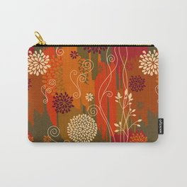 Boho Floral Pattern Var. 5 Carry-All Pouch