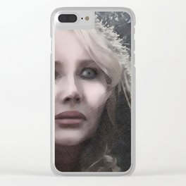 "VAMPLIFIED ""Frostbite"" Clear iPhone Case"