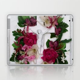 Crucifix by Kathy Morton Stanion Laptop & iPad Skin
