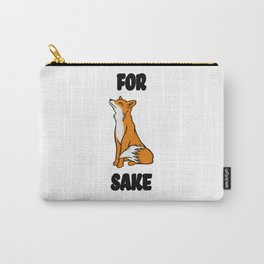 For Fox Sake! Carry-All Pouch